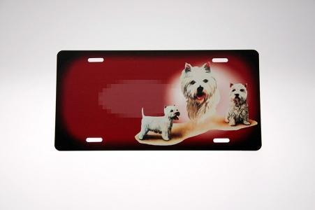 West Highland White Terrier Skilt