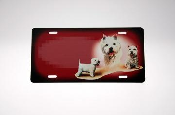 West Highland White Terrier Skilt