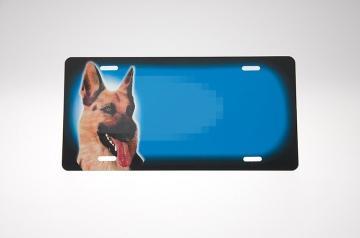 Hyrdehund blå Skilt